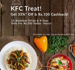 Order KFC Today and Get 33% off + Rs.100 cashback