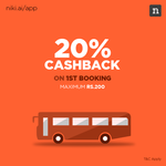 Get 20% Cashback on First Bus booking