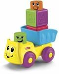 Fisher-Price Stack n Surprise Blocks Blockity Pop Dump Truck