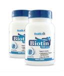Healthvit Biotin (Hair, Skin & Nails) 5000mcg 60 Capsules