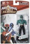 Power Ranger Samurai Blue Ranger, Multi Color 4-inch Figure