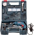 New Bosch GSB 500 RE Power & Hand Tool Kit   92 Tools