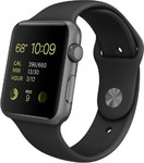 Apple Watch Sport 42 mm Silver Aluminium Case with Sport Band Smartwatch