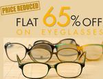 Flat 65% off on Eyeglasses & Sunglasses