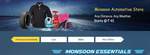 Monsoon Autmotive Store : Products Starting @ Rs.45
