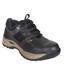 Jk Port JKP087BLK Safety Black Shoe With Steel Toe