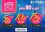 Zotezo : The Mega Monsoon Sale : Upto 80% off