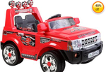 Marktech Hulk 2012 Ride On Jeep - Red