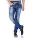 Spykar blue skinny fit cotton sdl490767579 1 934b1