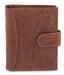 Hide & Sleek Genuine Soft Brown Leather Credit Card Holder