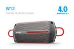 F&D W12 Bluetooth Speaker - Black @ Snapdeal