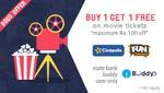FastTicket: BUY 1 GET 1 FREE on Cinepolis And Fun Cinemas