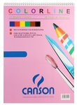 Canson 150 GSM Multipurpose Art & Craft Colored Paper Pad, 29.7x42cm, 12 Sheets, 1 Pad