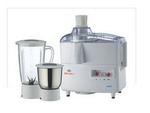Bajaj Majesty Amaze 450 W Juicer Mixer Grinder (White/ 2 Jar)