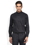 Stop Signature Black Solid Shirt size 42