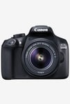 Canon EOS 1300D DSLR Camera with EF S18-55 IS II Lens Black