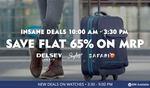 Minimum 40% off + 60% Cash Back on Bags & Luggage