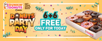 Donuts Party Pack - Buy 6 Get 6 for Free