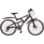 Hero RX2 26T Black & Red 21 Speed Sprint Bicycle with Disc Brake