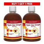 HealthKart Apple Cider Vinegar With Honey - Buy 1 Get 1 Free
