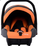Toy House Carry Cot Cum Carseat - Orange @ snapdeal