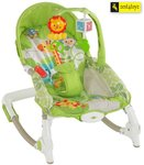 Zest4Toyz Jouet Portable Rocker Bouncer with Selectable Vibrator Mode and Toys