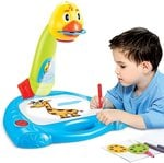 Toys Bhoomi 3 in 1 Kids Super Fun Drawing Projector - Table Lamp, Projector, Painting
