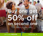 Crocs - Buy 1 Get 50% off on 2nd Product