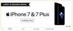 Reliance Jio 12months free with iPhone 7 & iPhone 7 Plus offer+Citibank Cashback offer of 10K and more