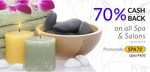 LittleApp - 70% Cashback on all Spa & Salons (Max Rs 400) for all users