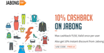 Get 10% cashback when you pay with Freecharge.