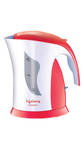 Lifelong TeaTime1 1 L Hairpin Electric Kettle (Red & White)