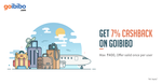 Get 7% cashback when you pay with Freecharge on Goibibo
