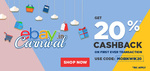 Get 20% Cashback on eBay with MobiKwik