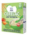 Nestle Cerelac Infant Cereal Stage 3 (after 10 months) Wheat Rice Mixed Veg - 300g