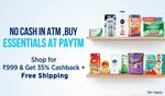 Upto 35% Cashback on Personal Care,Baby Care and much more  + Free Shipping
