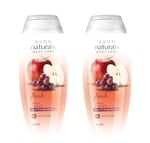 Avon Naturals Fresh Apple and Grape Hand and Body Lotion 100 ml - Pack of 2