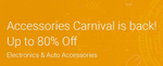 Accessories Carnival [14-16 Nov]: Upto 80% Off on Electronic Accessories many crazy offers!