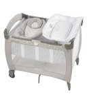Graco Pack 'n Play Contour Electra Bassinet with Napper - Bear & Friends