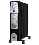 Maharaja Whiteline Equato (9 O F R) Oil Filled Room Heater (Premium Black and Silver Finish) discount offer