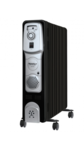 Maharaja Whiteline Equato (11 O F R) Oil Filled Room Heater (Premium Black and Silver Finish)