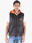 Sports 52 Wear Black Solid Bomberjacket