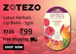 Lotus Herbals Lip Balm - 5gm