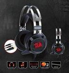 Redragon Siren H301 7.1 Channel Gaming Headphones (Black/Red)
