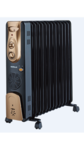 Havells OFR 11 Fin With Fan Oil Filled Radiator (Golden & Black)