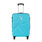 Safari Traffik-Anti Scratch Teal 4 Wheel Hard Luggage Small