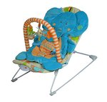 Sunbaby Elephant Baby Bouncer (Blue)