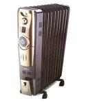 Bajaj 2000 Majesty OFR RH 9 Plus Oil Filled Radiator Brown & Golden