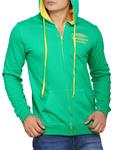 Green Fleece Sweatshirt of Men