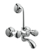 Hindware Wall Mixer with Long Bend Pipe F330020CP
